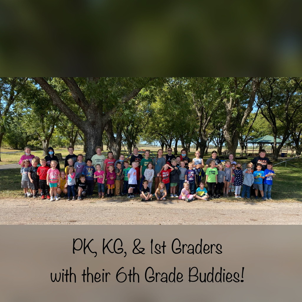 PK, KG, & 1st with their 6th Grade Buddies!