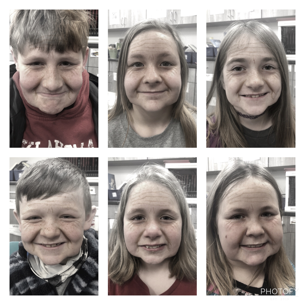 Third graders got a look at how they'd age.
