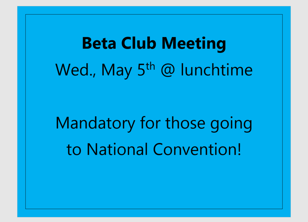 Beta Meeting